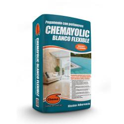 CHEMAYOLIC BLANCO FLEXIBLE - 25 KG